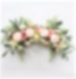 Blumenbogen altrosa blush apricot