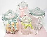 Candybar Gläser mit Spitze