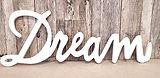 Schriftzug _Dream_