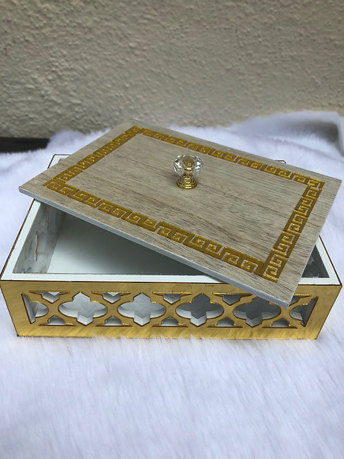 Moroccan Wooden Box