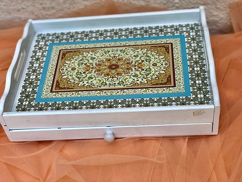 Drawer Tray With Print
