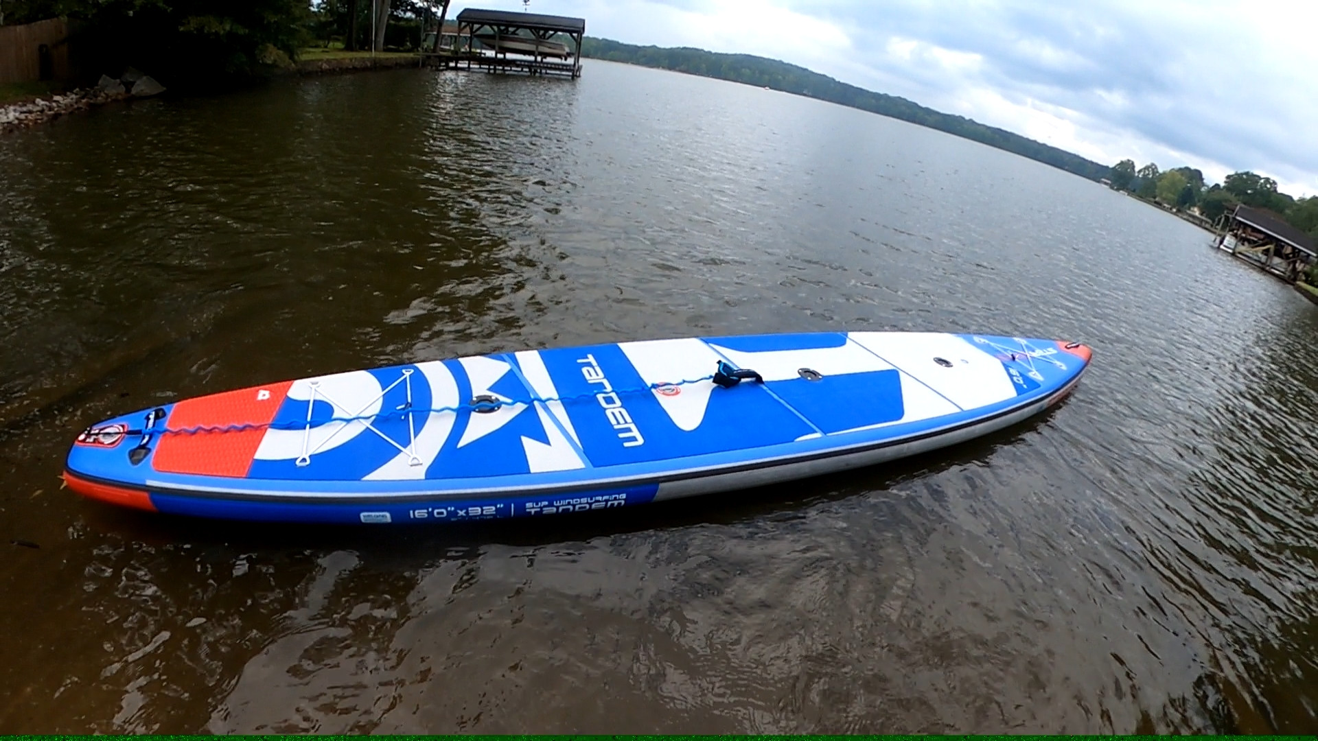 4 hours Starboard TANDEM inflatable, 16'