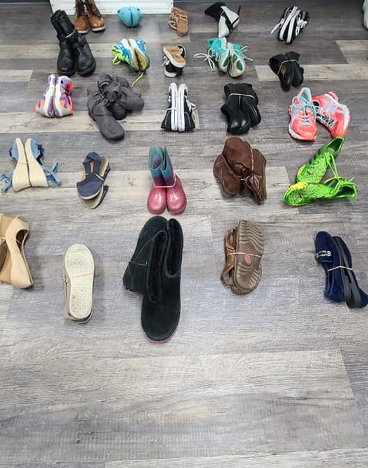 shoe counting