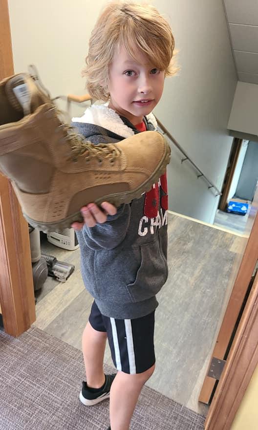 NEW shoe donation