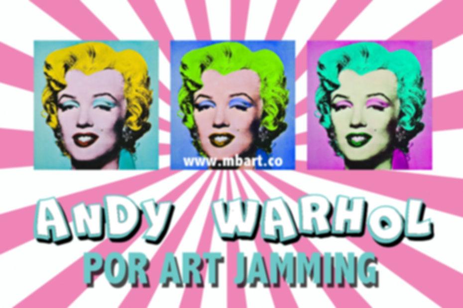 Andy Warhol_Pop Art Jamming_Nov2018 BANN