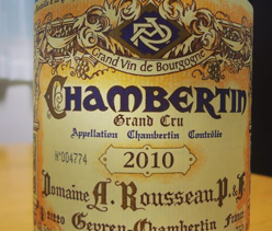 Why it is essential to hold a bottle of Armand Rousseau 2010, Chambertin in your portfolio or your