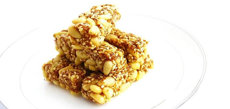養生點心 松子紅藜芝麻酥糖 best healthy sweet 春節禮盒