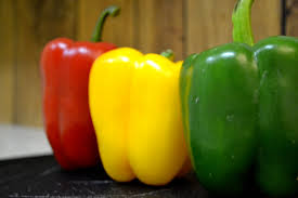 Peppers Red Green Yellow