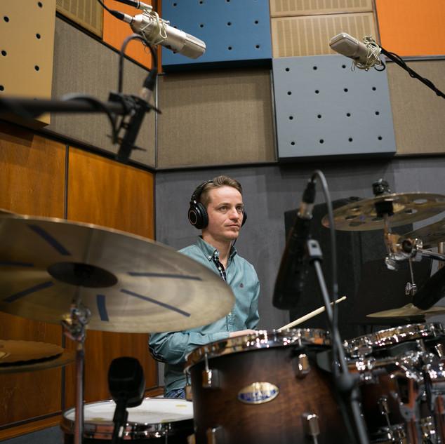 KunaTones in the studio