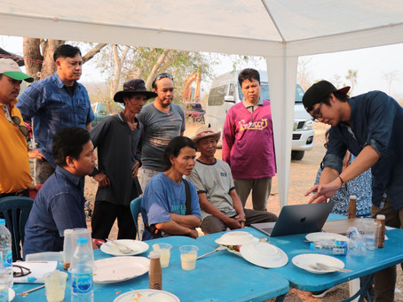 Groundwater Recharge Pilot Project in Phare Province, Thailand.