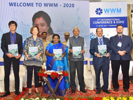 Water and Waste Management International Conference, Hyderabad India.