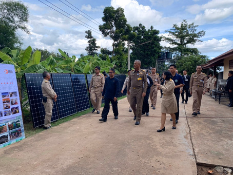 Privy Councilor to his majesty the king of Thailand visited our ERIG workshop in Khon Kane
