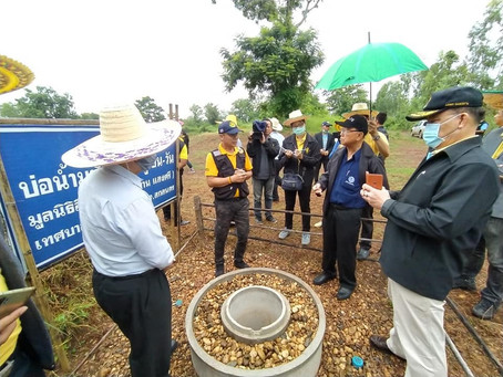 Thai Senate Inequality committee visited Chiang-Krue AGS Groundwater Bank Learning Center