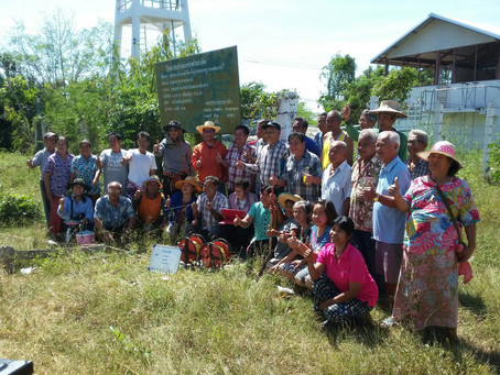 AGS team help out Locals government in North-Eastern, Thailand
