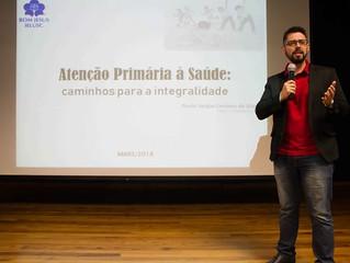 Palestra sobre Atenção Primária à Saúde na IELUSC - Joinville
