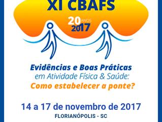 XI Congresso Brasileiro de Atividade Física e Saúde