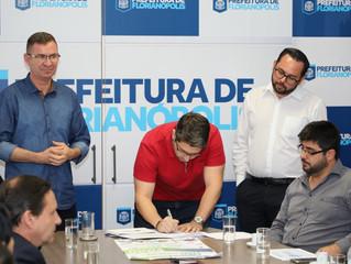 Parceria com a Prefeitura de Florianópolis