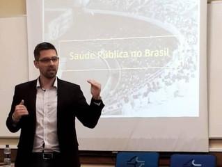 Curso sobre saúde pública na 4ª Jornada Catarinense de Educação Física