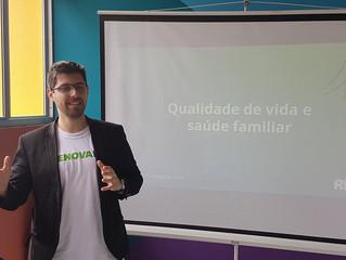 Sensibilização na comunidade do Monte Cristo, Florianópolis