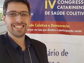 Participação no IV Congresso Catarinense de Saúde COLETIVA