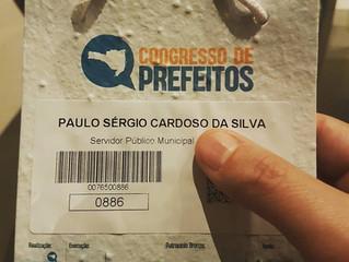 Presença no Congresso de Prefeitos, da FECAM