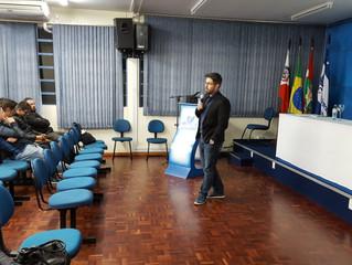 Palestra para mais de 100 alunos em Mafra