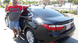 Happy Customer with New Car Window Tint