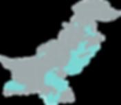 Nai Zindagi Map Pakistan
