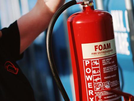 Fire Extinguisher Servicing.