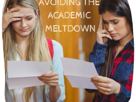 Counselor's Corner: Tips from Bainbridge Teachers. Part 2 - Avoiding Meltdowns
