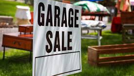 Spring Garage Sale Update