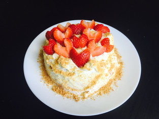 Strawberry Butter Cake