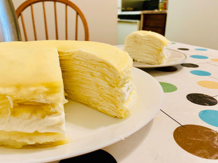 Durian Mille Crepes
