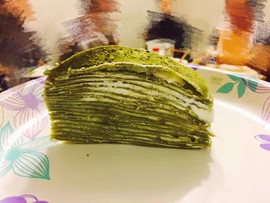 Matcha Mille Crepes