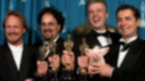Neal Scanlan winning his 1996 Oscar for Best Effects, Visual Effects