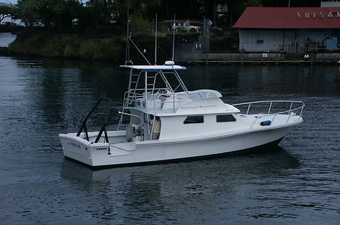 University of Hawaii Force Marine Boat