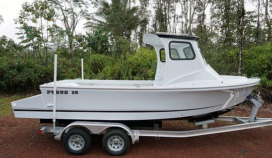 Custom 18 boat hawaii