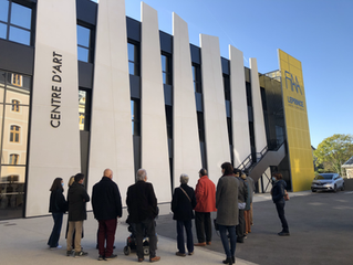 Réouverture du centre d'art