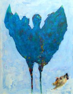 Lucien RUIMY - Papillon bleu