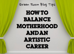 """""""How to be an Actor and Mom"""" Interview, The Green Room Blog"""