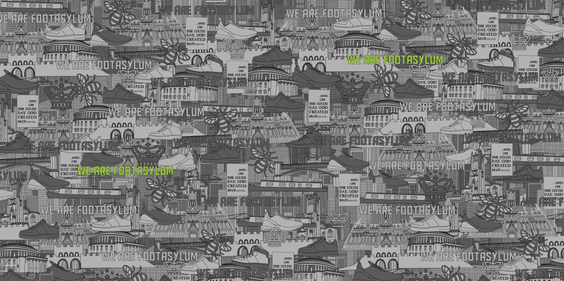 Manchester themed wallpaper created for
