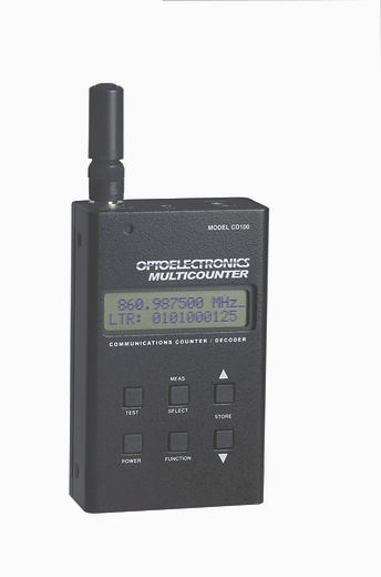 CD100 Frequency Counter