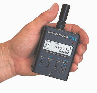Scout Frequency Recorder