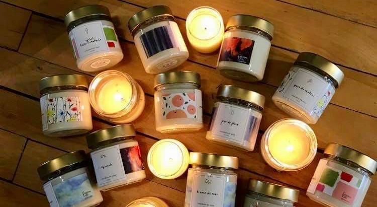 Lancement de notre collection été 2021 de bougies de soya