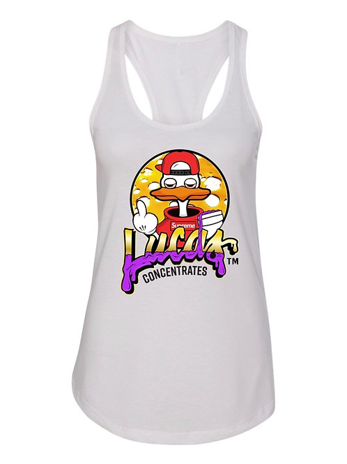 Women's Lucas White Supreme Tank