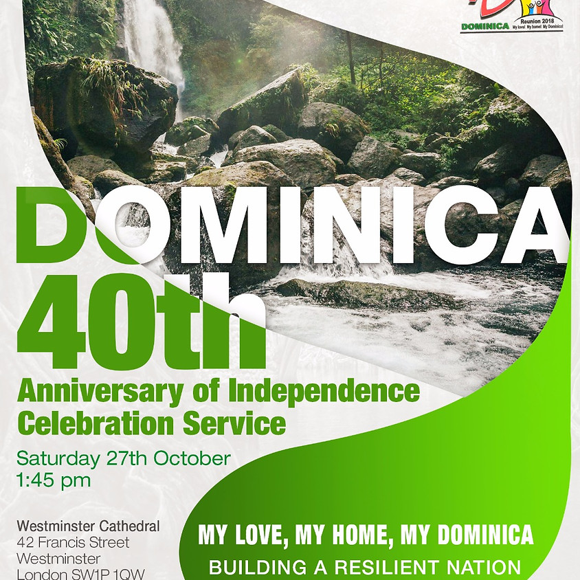 Dominica's 40th Anniversary of Independence Celebration Service
