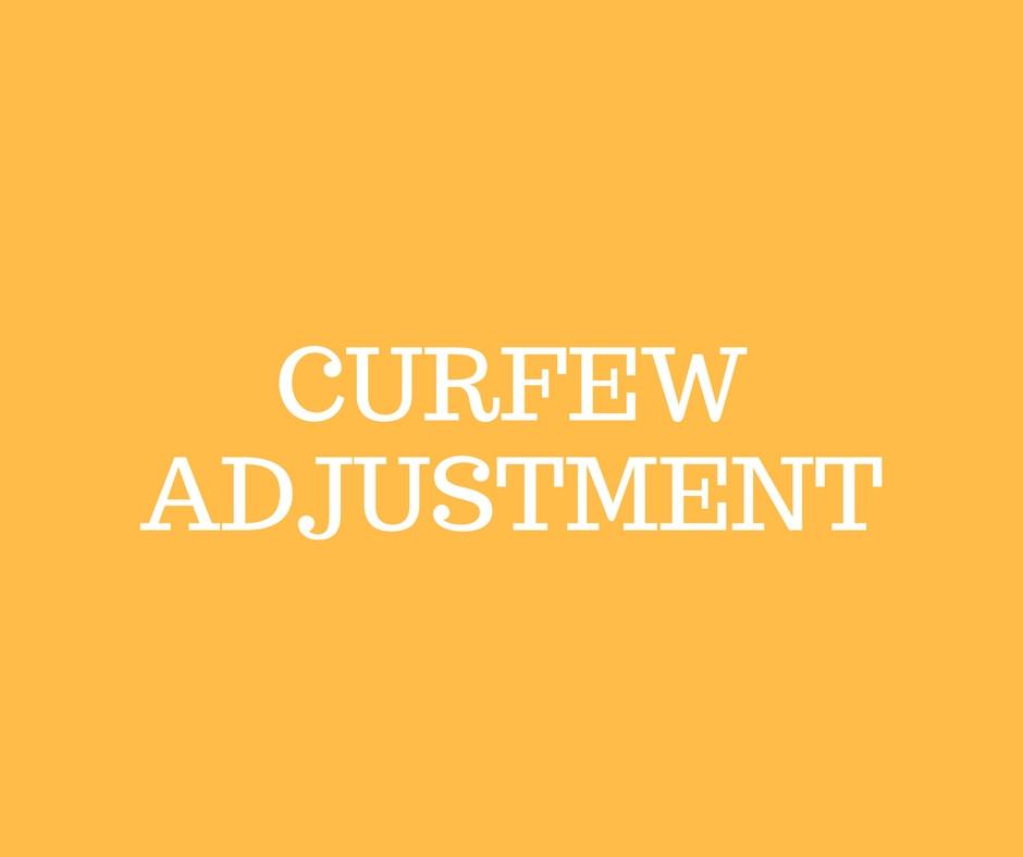 Curfew End