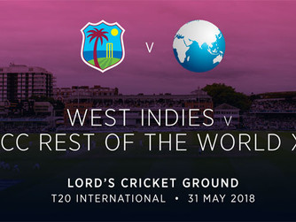 Lord's to host West Indies v ICC Rest of the World T20