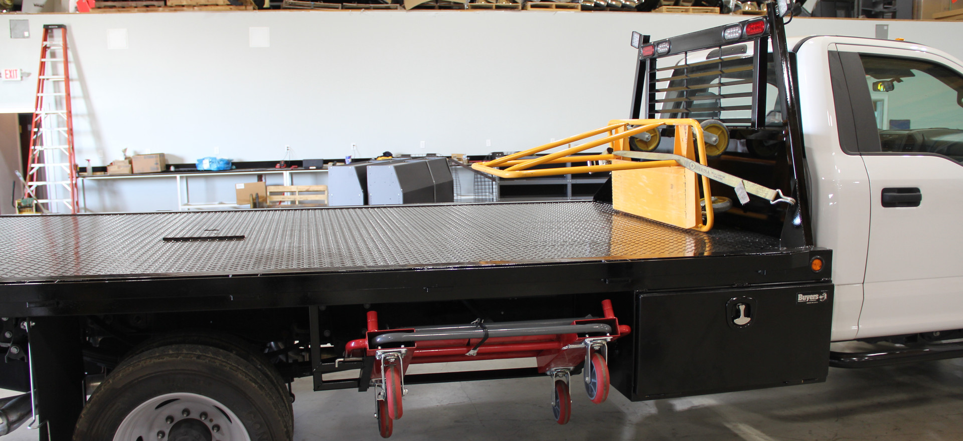 JPE Flatbed We Built With Drywall Dollli