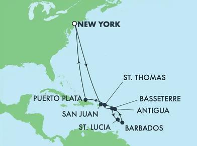Croisière Caraibes du Sud